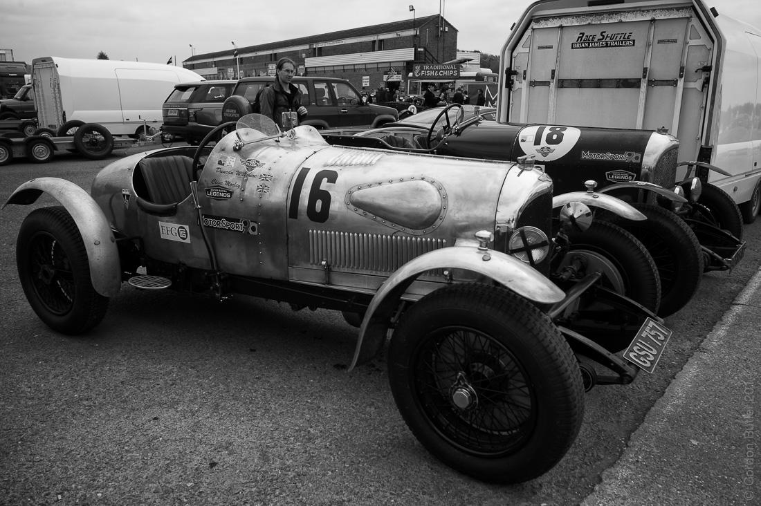 pair of Bentleys