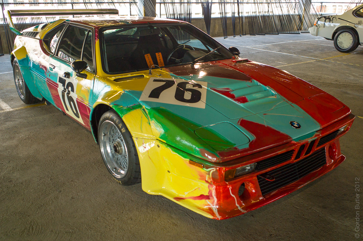Andy Warhol, 1979 - BMW M1 Group 4